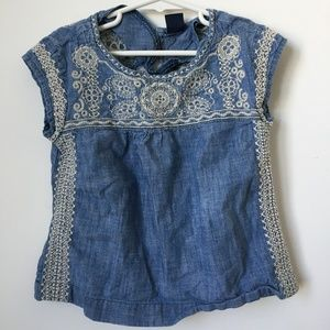 Gap Kids Chambray Top for Girls